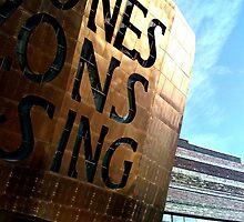 Creu Gwir Fel Gwydr O Ffwrnais Awen / In These Stones Horizons Sing by Gordon Nightingale
