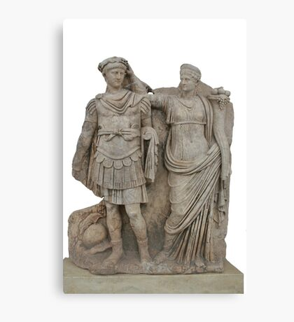 Nero and His Mother, Agrippina Canvas Print