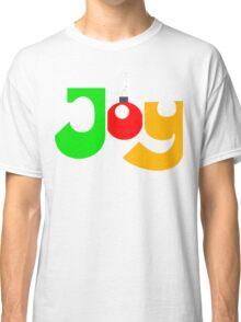 "Christmas T-Shirt ""JOY""  Classic T-Shirt"