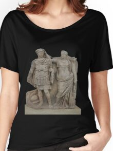 Nero and His Mother, Agrippina Women's Relaxed Fit T-Shirt