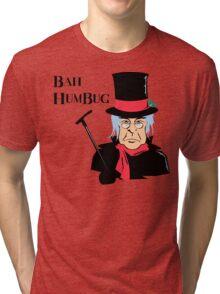 BAH HUMBUG Christmas T-Shirt  Tri-blend T-Shirt