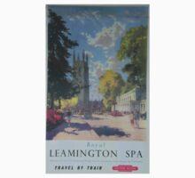 ROYAL LEAMINGTON SPA ~ TRAVEL BY TRAIN Baby Tee