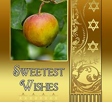 Rosh Hashanah Jewish New Year - L'Shana Tova by Moonlake
