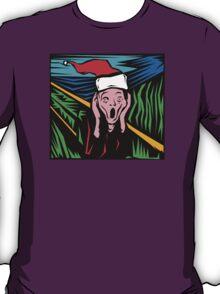 """Scream"" Christmas T-Shirt T-Shirt"