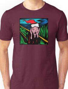 """Scream"" Christmas T-Shirt Unisex T-Shirt"
