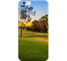 Sunset Golf iPhone Case/Skin
