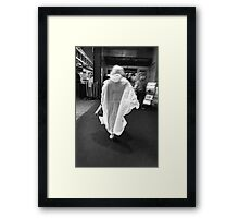 Our Lady of the Market Framed Print