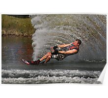 Water Skiing 5 Poster
