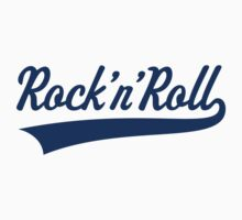 Rock 'n' Roll (Blue) Kids Clothes