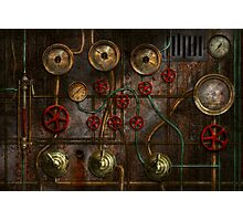 Steampunk - Job jitters Photographic Print