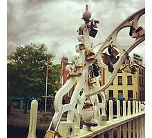 Locks in Dublin Photographic Print