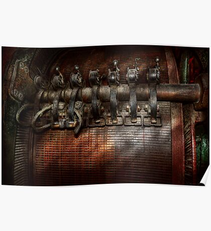 Steampunk - Motorized  Poster