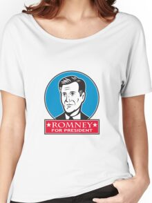 Mitt Romney For American President Women's Relaxed Fit T-Shirt