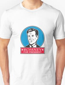Mitt Romney For American President Unisex T-Shirt