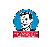 Mitt Romney For American President Photographic Print