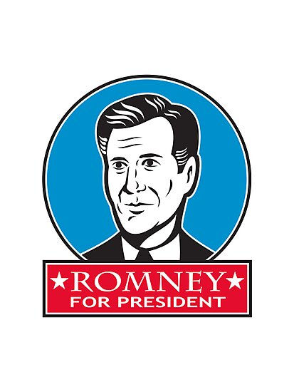 Mitt Romney For American President by patrimonio