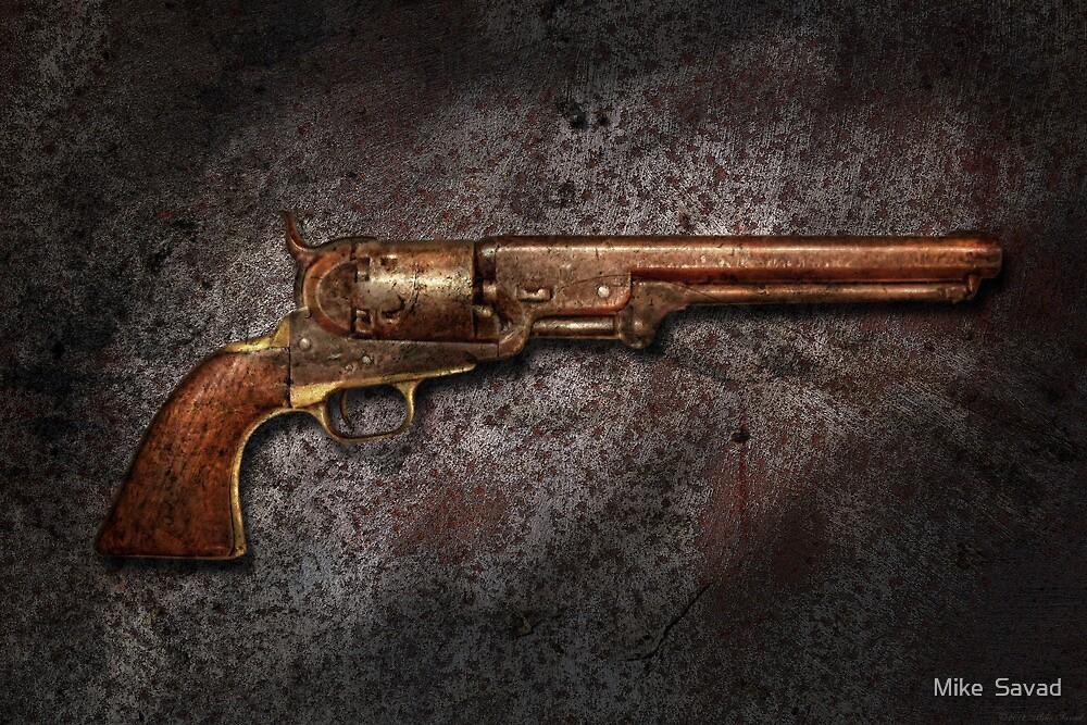 Gun - Colt Model 1851 - 36 Caliber Revolver by Mike  Savad