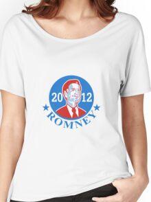 Mitt Romney For American President 2012 Women's Relaxed Fit T-Shirt