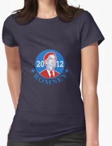 Mitt Romney For American President 2012 Womens Fitted T-Shirt