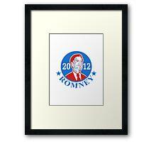 Mitt Romney For American President 2012 Framed Print