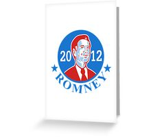 Mitt Romney For American President 2012 Greeting Card