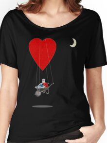 floating away  Women's Relaxed Fit T-Shirt