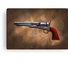 Gun - Model 1860 Colt Army Revolver Canvas Print