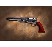 Gun - Model 1860 Colt Army Revolver Photographic Print