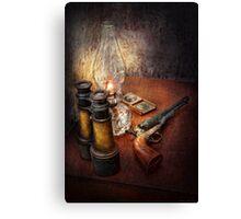 Gun - The adventures code  Canvas Print