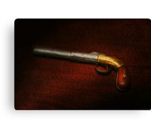 Gun - The shooting iron Canvas Print