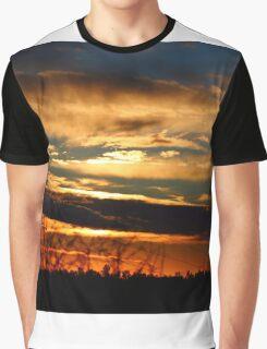 Tonight's Sunset, Cameron Park, CA Graphic T-Shirt