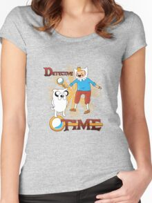Detective Time! Women's Fitted Scoop T-Shirt