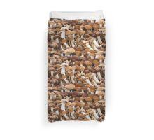 honey mushrooms Duvet Cover