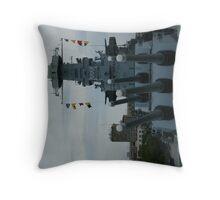 USS NORTH CAROLINA Throw Pillow