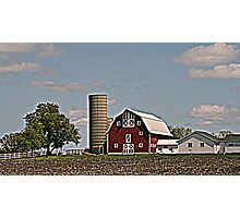 Wisconsin Farm Photographic Print