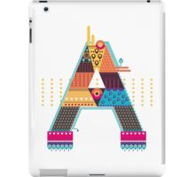 A as ... A iPad Case/Skin