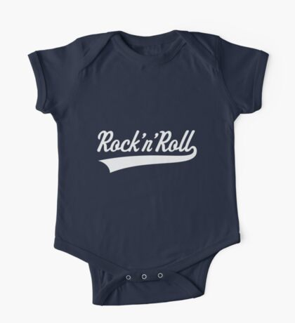 Rock 'n' Roll (White) One Piece - Short Sleeve