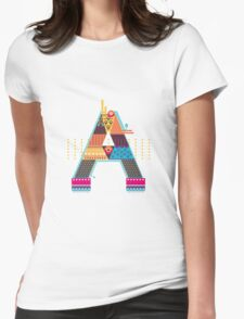 A as ... A Womens Fitted T-Shirt