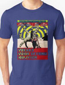 Freaks From Beyond Oblivion Alien Green Unisex T-Shirt
