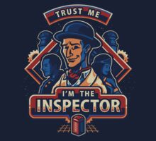 Trust The Inspector One Piece - Short Sleeve