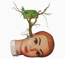 head tree by IanByfordArt