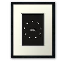 Stargate Universe Framed Print