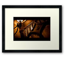 What's The Password??? Framed Print