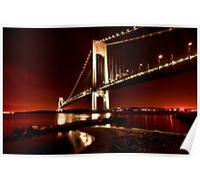 The Verrazano-Narrows Bridge Poster