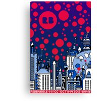 REDBUBBLE CITY! Canvas Print