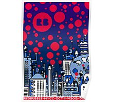 REDBUBBLE CITY! Poster