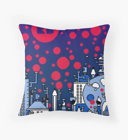 REDBUBBLE CITY! Throw Pillow