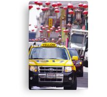 Taxi.......!!!!!!!!!!!!! Canvas Print