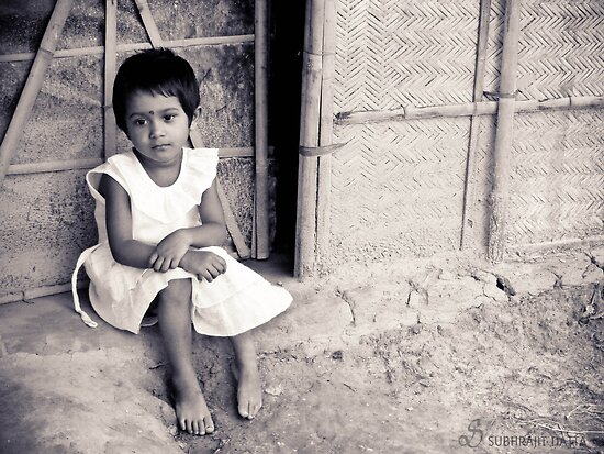 I may be little but I've worries too... by Subhrajit Datta