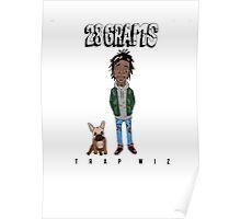 28 grams Poster